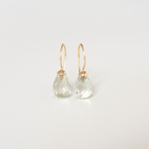 &jewels Earrings prasiolite 14ct