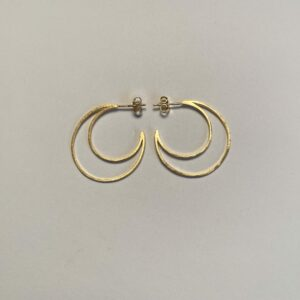 Enamel hoops moon
