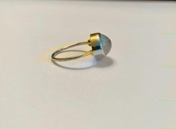 josephine bergsoe aqua simple ring