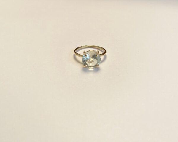 nicolette stoltze prasioliet ring